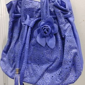 💐Free Item💐Bright Blue Shoulder Bag